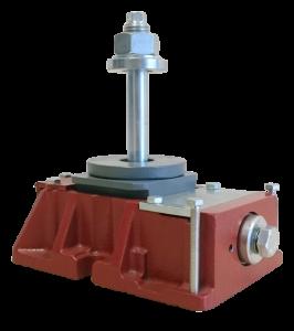 Richtelemente für Werkzeugmaschinen und Anlagen. Ideal zum Ausrichten von Drehmaschinen, Fräsmaschinen, Bearbeitungszentren, Großmaschinen, Druckmaschinen u.v.m.